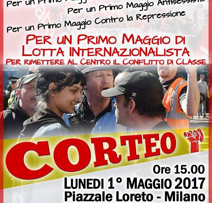 1° Maggio internazionalista a Milano