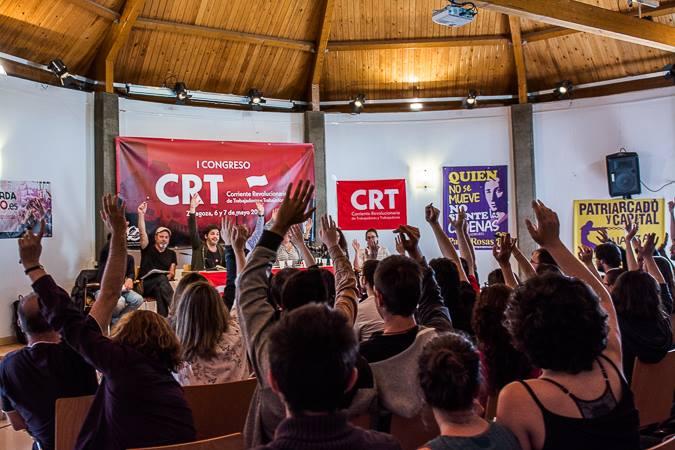 Sul Congresso della CRT (FT-CI) in Spagna