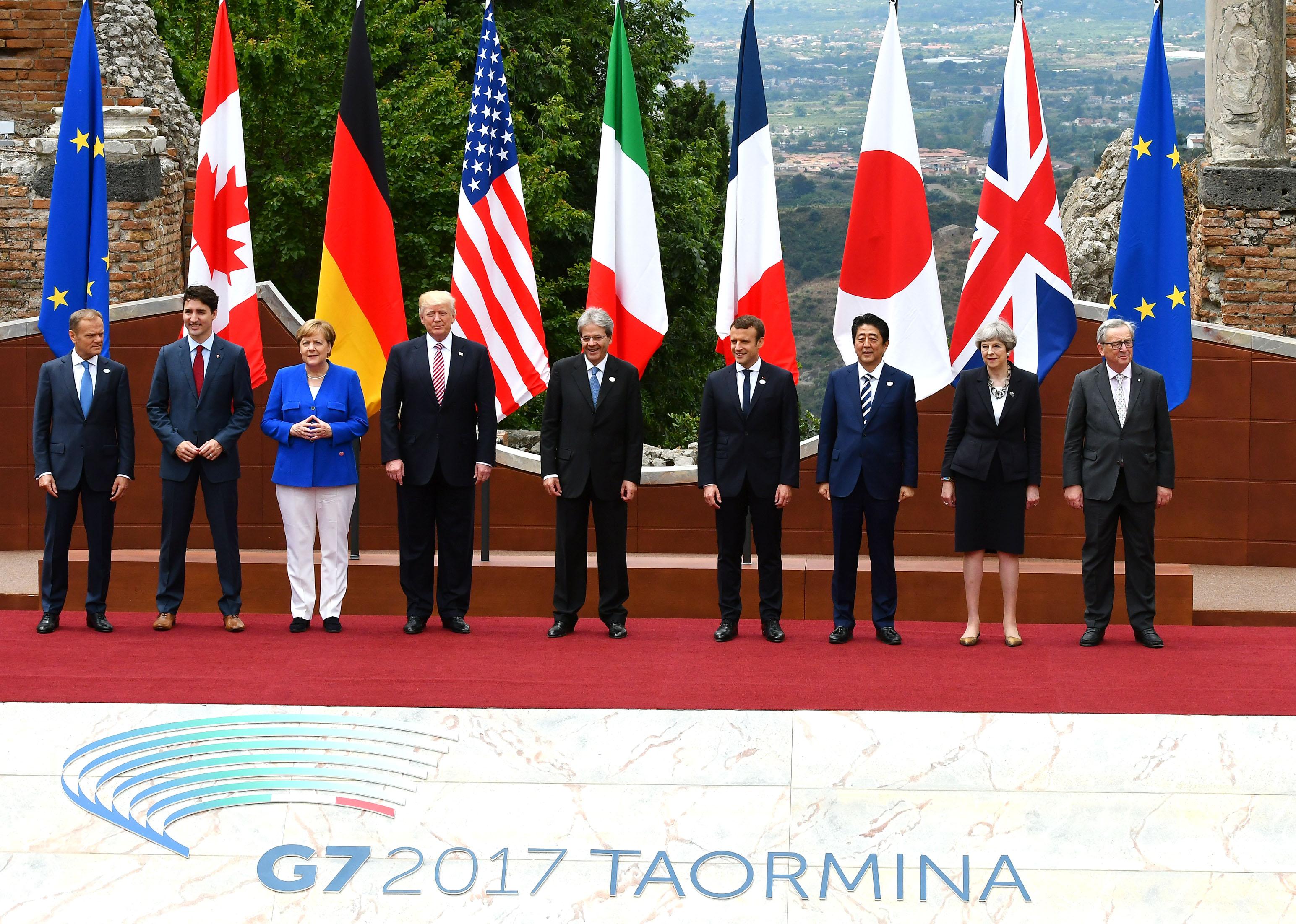 G7 di Taormina: una riunione per pochi