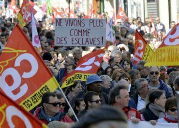 1 maggio in Francia: studenti e operai contro la deriva reazionaria