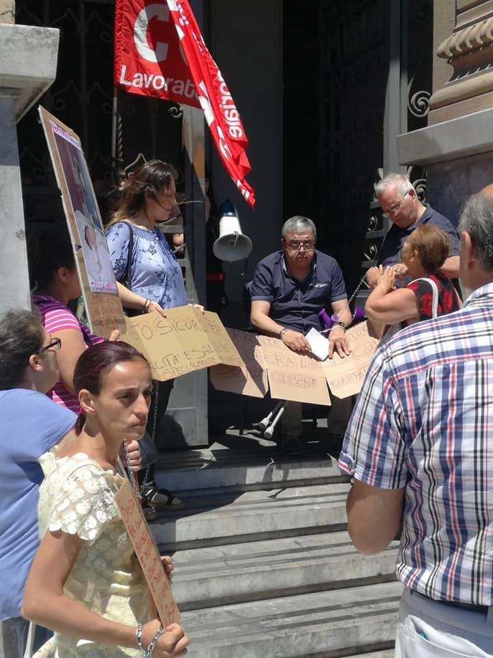 Il Si Cobas a Messina in prima linea nelle lotte per il diritto all'abitare