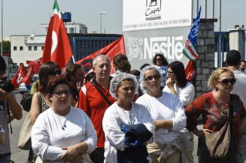 Perugina vuole licenziare 340 operai