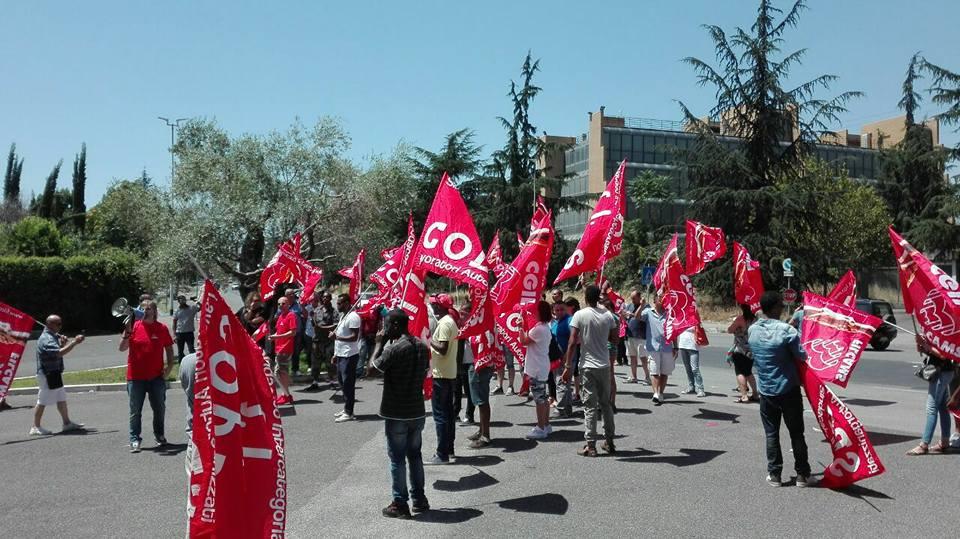 Comunicato sullo sciopero di magazzini e supermercati Tuodì di sabato