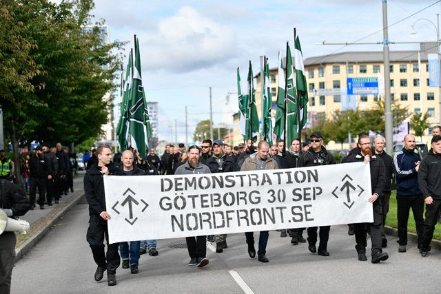 La marcia nazista di Gothenburg e la chiamata per il 30 Settembre