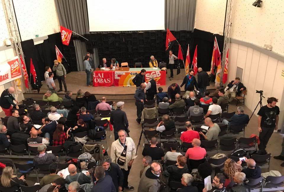 Appunti sull'assemblea di Milano per lo sciopero generale