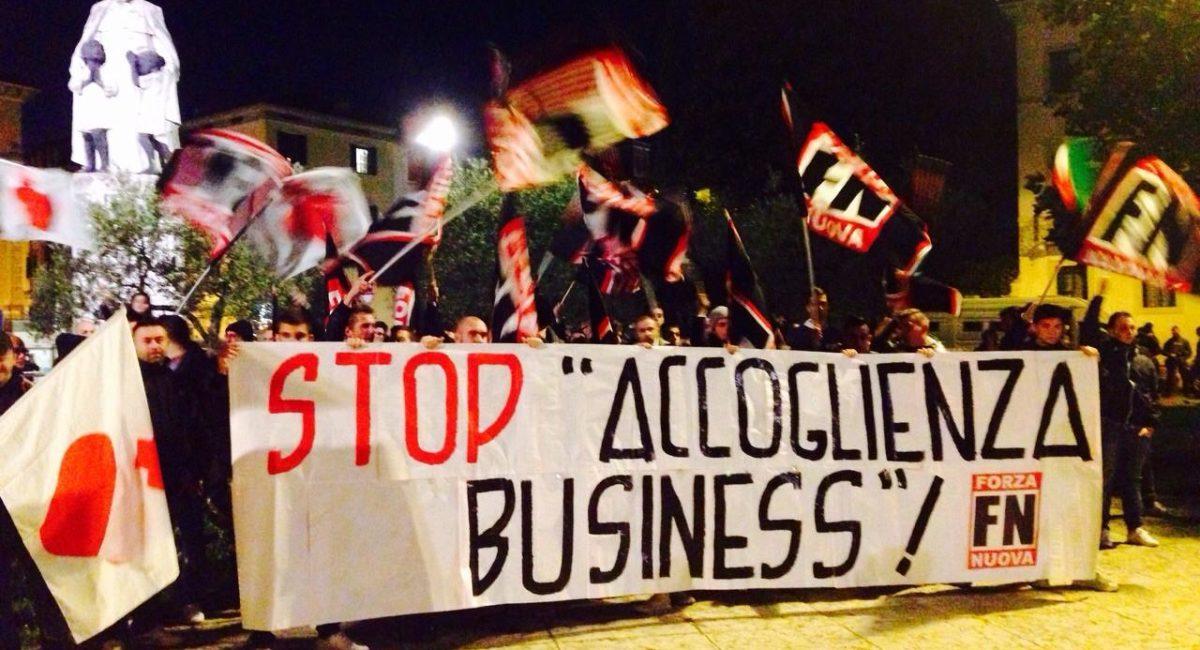 """Manifestazioni """"apolitiche"""": la nuova tattica di Forza Nuova"""