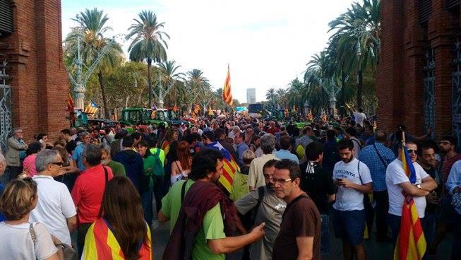 La lotta per l'autodeterminazione in Catalogna