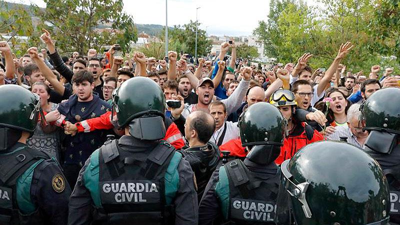 Appoggiamo la ribellione del popolo catalano e il suo diritto di autodeterminazione