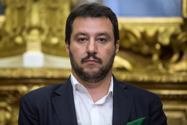 Salvini (Lega Nord) si schiera con la monarchia spagnola contro l'autodeterminazione della Catalogna