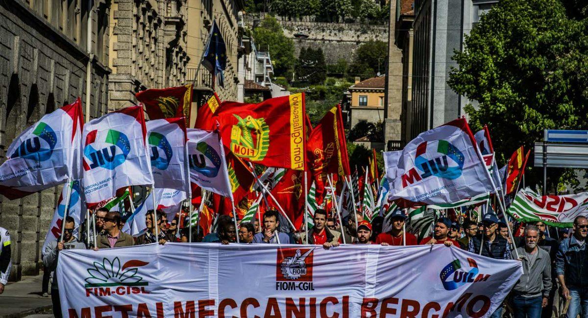 FIOM Bergamo: i landiniani all'arma bianca contro l'opposizione