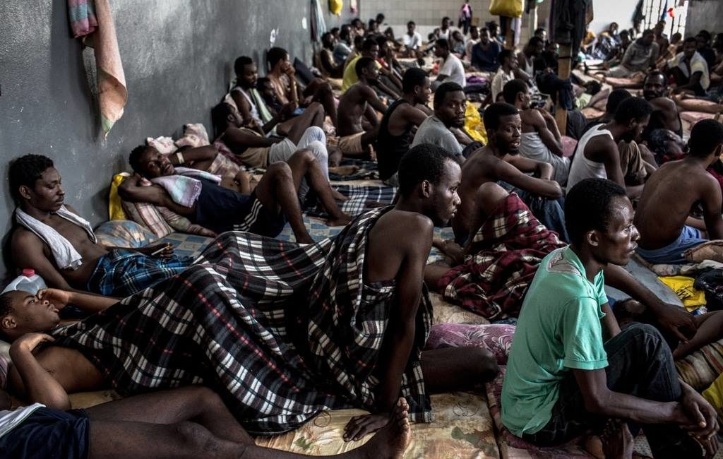 Sui lager libici e l'ipocrisia dei media borghesi