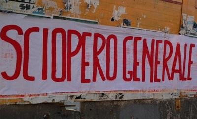 Verso lo sciopero generale del 27 ottobre