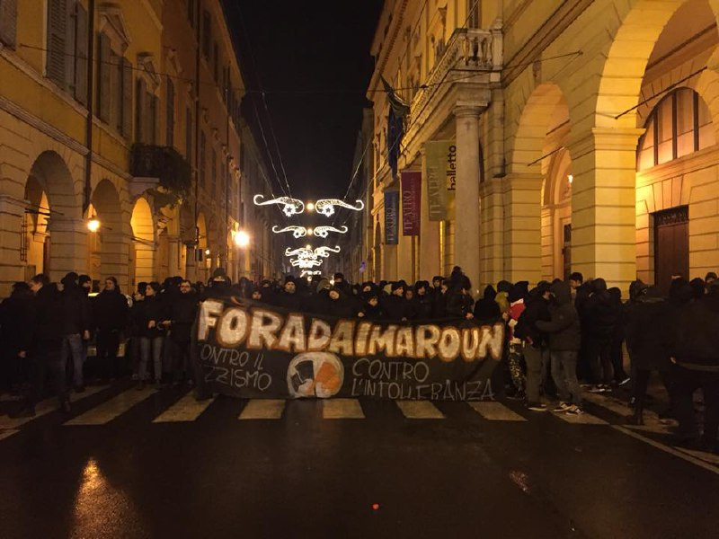 Scontri tra antifascisti e polizia a Modena: il PD è responsabile!