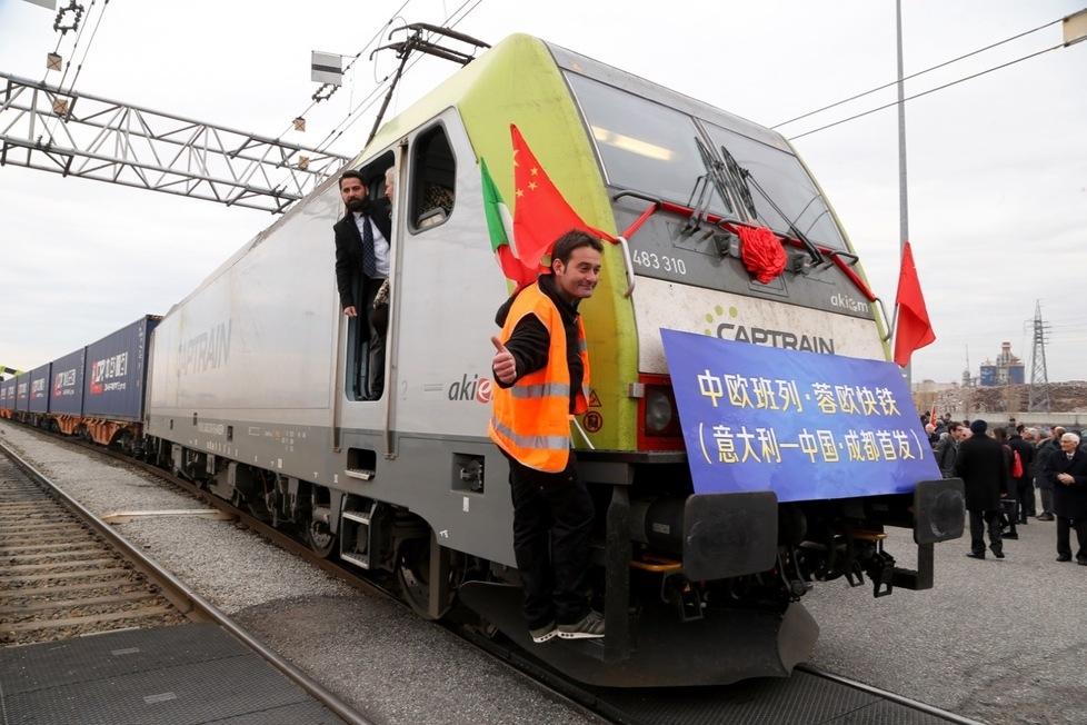 Il primo treno Italia-Cina. La nuova frontiera del mercato globale