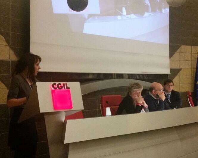 """Eliana Como (SAC-CGIL):""""L'accordo firmato con Confindustria è irricevibile!"""""""