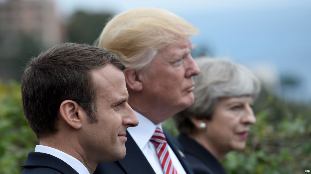 Trump, Macron e May pronti alla guerra (?)