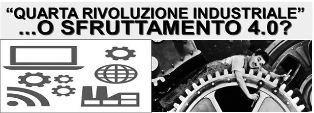 A Brescia conferenza su Industria 4.0: un nuovo sfruttamento?