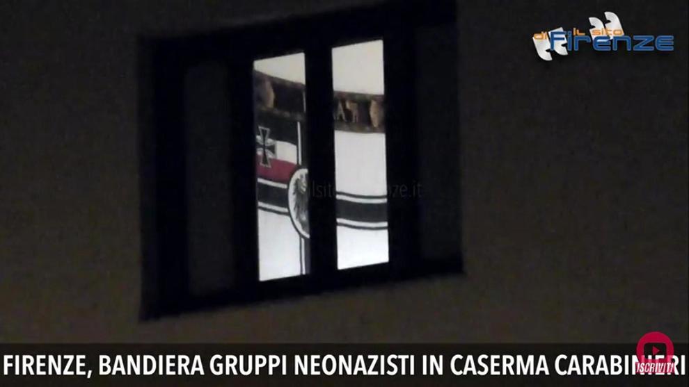 Bandiera neonazista in caserma: assolto il carabiniere