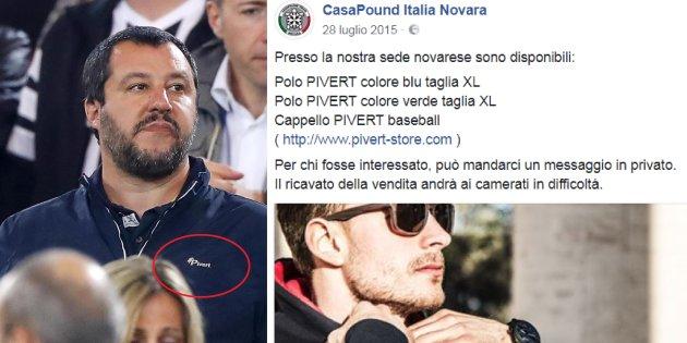 Salvini, il filo rosso che lega la maglia della Pivert, i rapporti con Casapound e il Ministero dell'Interno