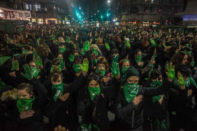 Argentina: Grande vittoria del fronte abortista