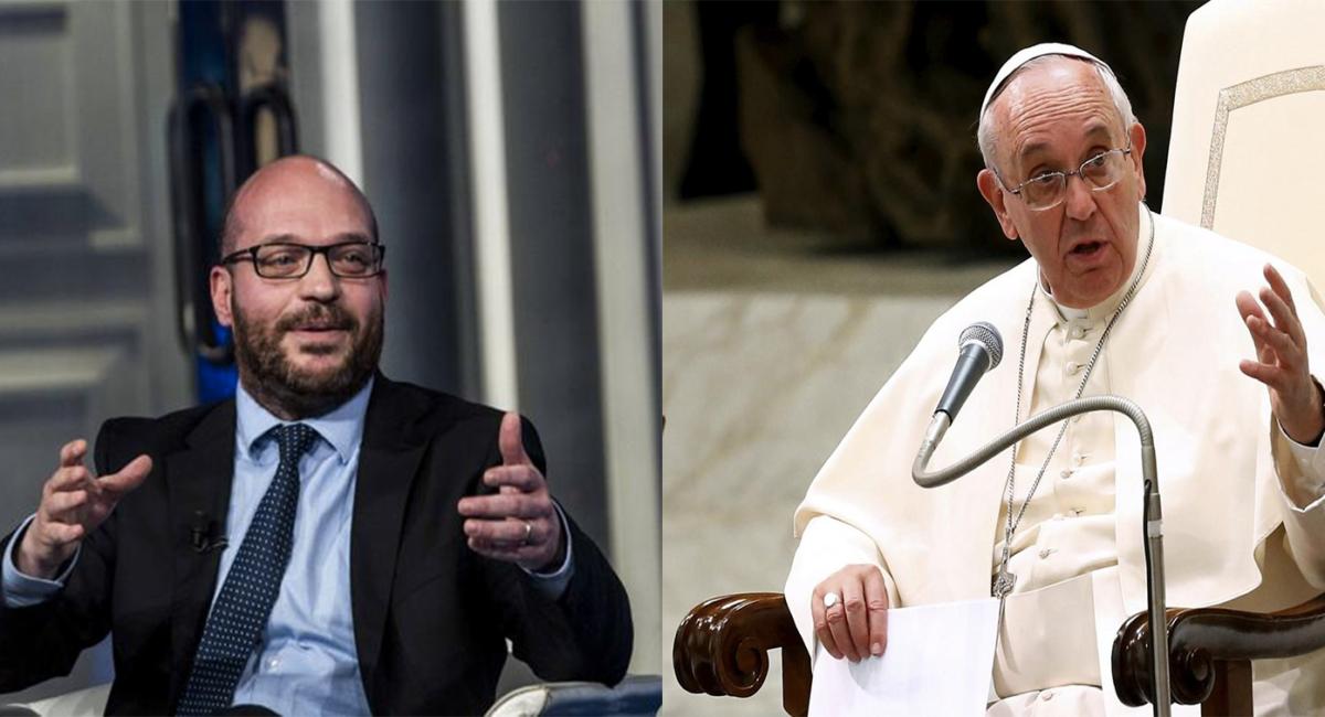 Il Papa e il ministro Fontana hanno le stesse idee