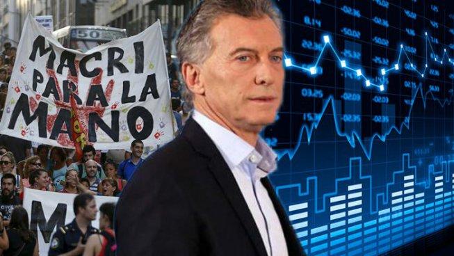 Argentina: peso in caduta libera, in migliaia si mobilitano contro Macri e il FMI