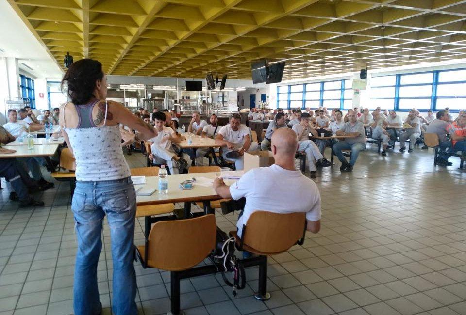XVIII Congresso CGIL: intervista a Dario Salvetti, RSU FIOM alla GKN