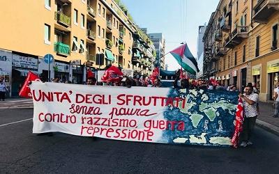 Contro il razzismo di stato, per l'unità di classe tra proletari immigrati e autoctoni: alla lotta!