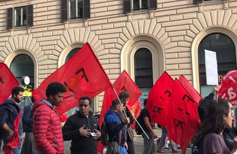 Per una sola grande lotta: la FIR e il Collettivo Nadezhda in piazza il 27 ottobre
