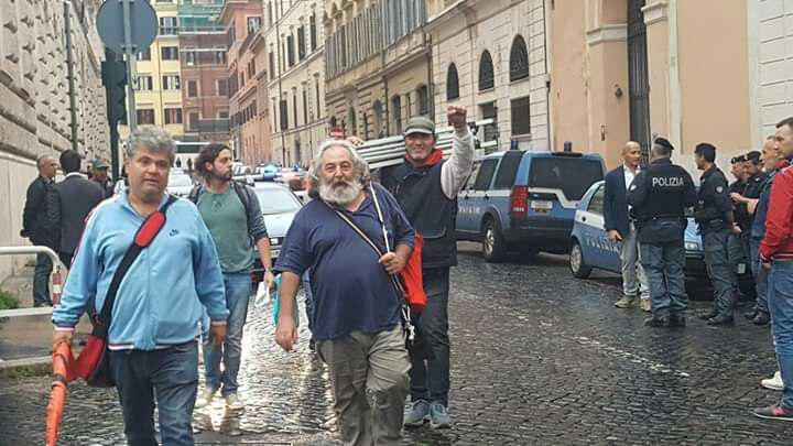 FIAT: Daspo a Roma per i 5 licenziati. Intervista ad Antonio Barbati