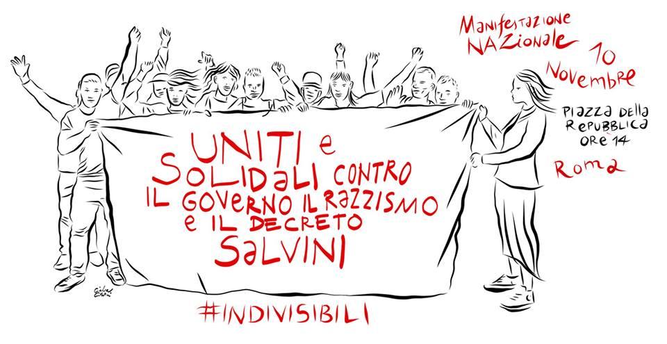 Indivisibili: oggi corteo a Roma contro il governo