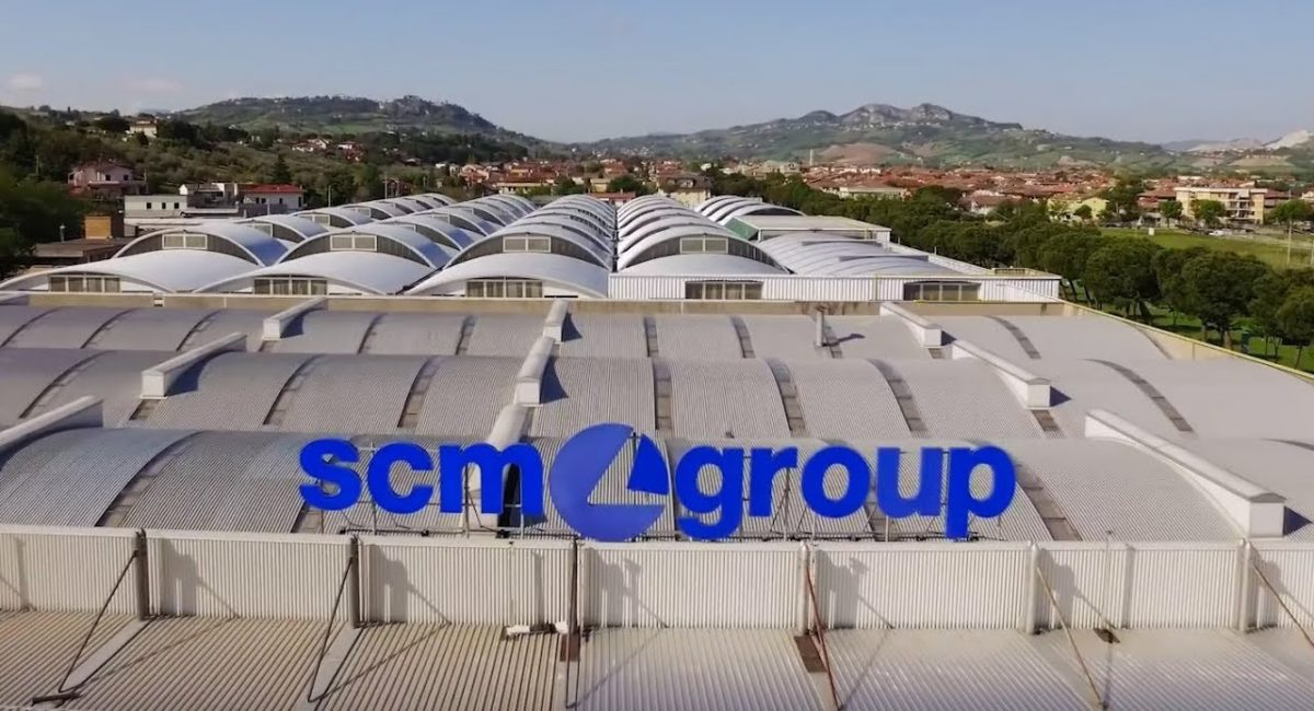Presidio permanente degli operai dell'SCM Group di Rimini