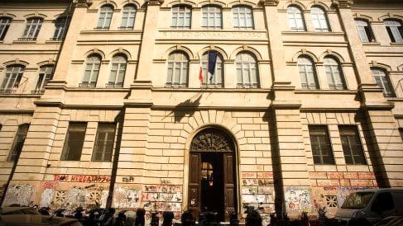 Comunicato d'occupazione del liceo Tasso di Roma
