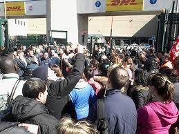 Pesanti condanne per lo sciopero alla DHL di Settala (MI)