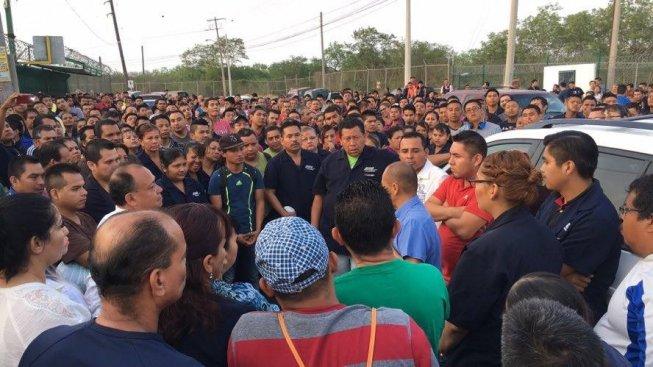 Più di 40 maquiladoras sono in sciopero in Messico