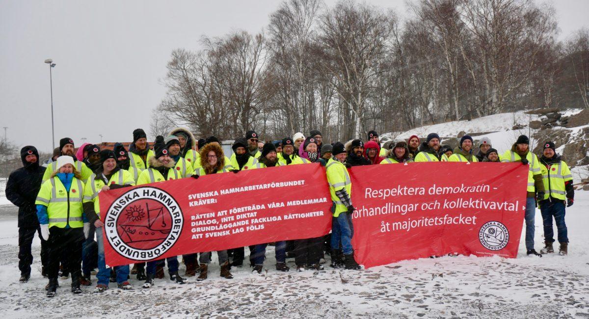 [SVEZIA] L'avanguardia del movimento operaio sono i lavoratori portuali