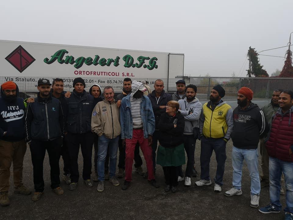 Braccianti Angeleri: condanna per il padrone, la vertenza continua!