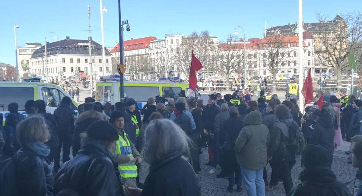 [SVEZIA] Presidio antifascista contro il movimento anti-migranti