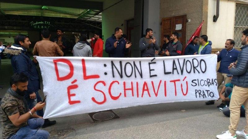Sindacalisti allontanati da Prato: appello contro il foglio di via