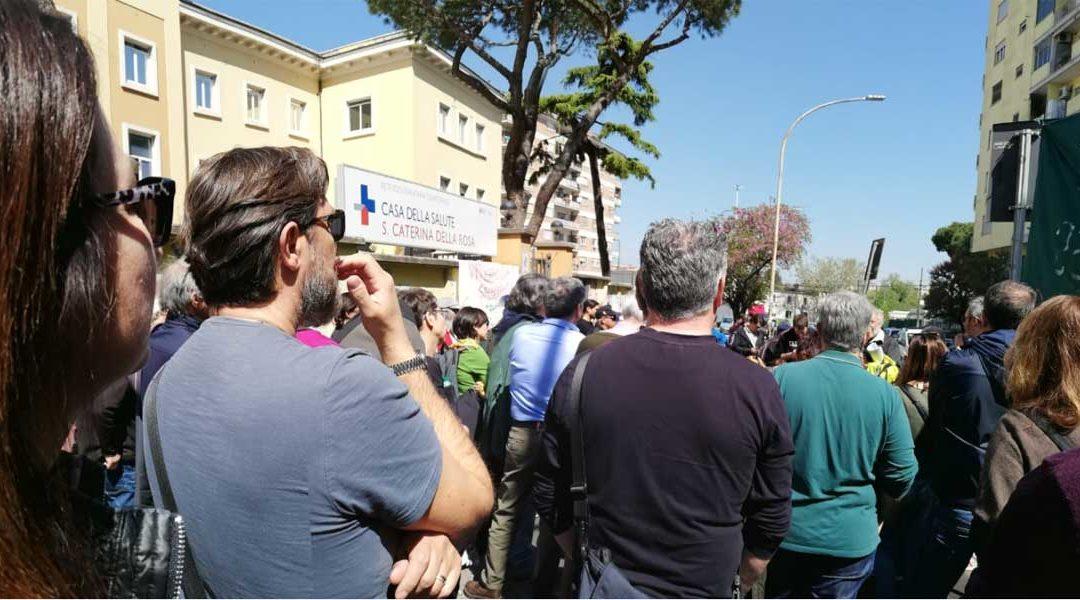 Continua a Roma la lotta contro liste d'attesa ingiuste in Sanità