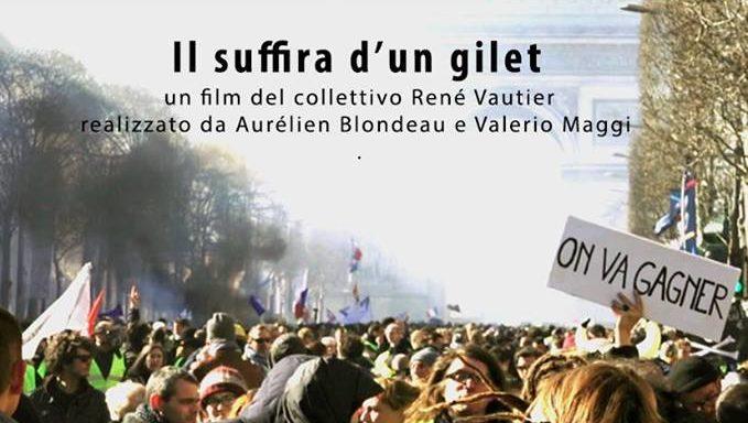 Il suffira d'un gilet: proiezione del documentario sui Gilet Gialli a Roma