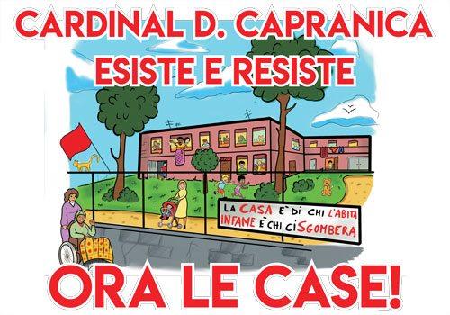 Lo sgombero a Cardinal Capranica (Roma): repressione e casa al tempo di Salvini
