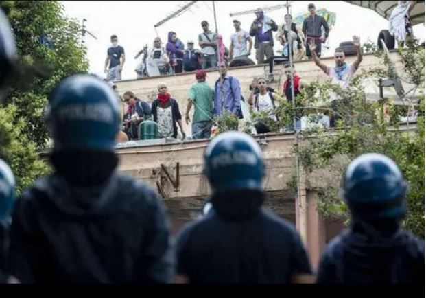 Roma: contro ogni sgombero, diritto alla casa e al salario per tutti