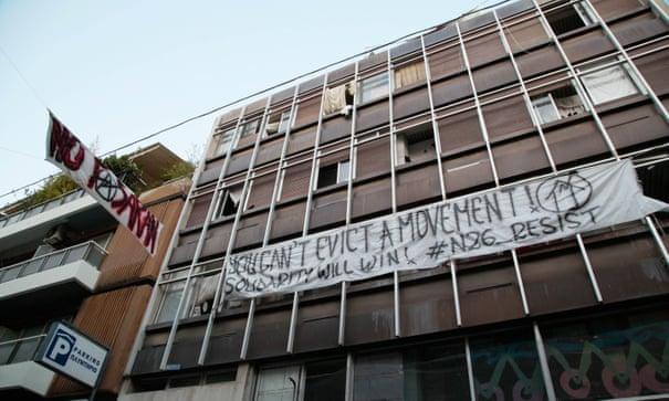 Grecia: il quartiere di Exarchia ad Atene è sotto sgombero