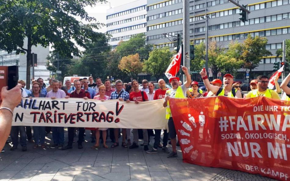 Germania: gli operai del gruppo Riva in sciopero da oltre due mesi