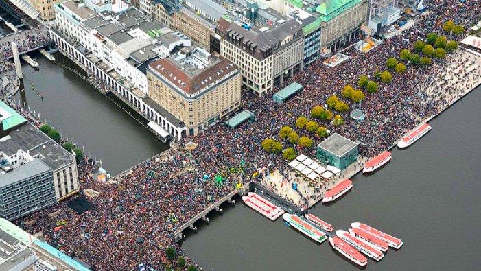 Oltre 5.000 azioni di protesta in tutto il mondo contro la crisi climatica
