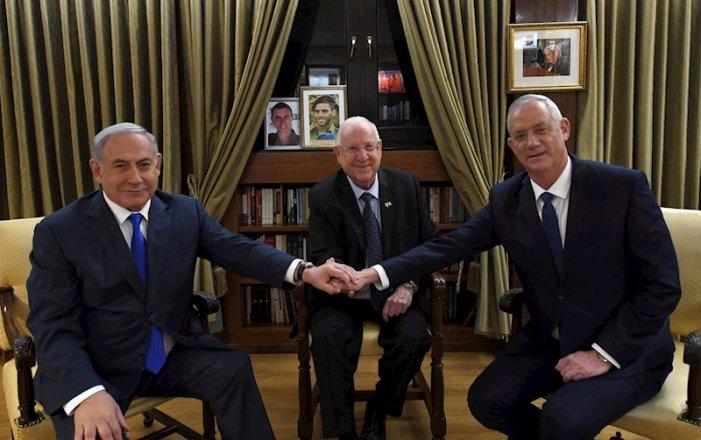 Stato di Israele: i due candidati più votati cercheranno di negoziare un governo di unità nazionale
