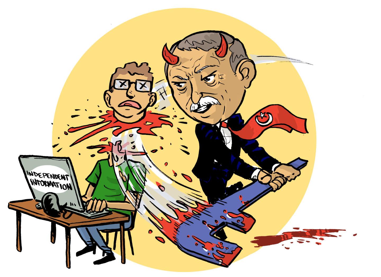 La censura di Facebook aiuta la guerra di Erdoğan