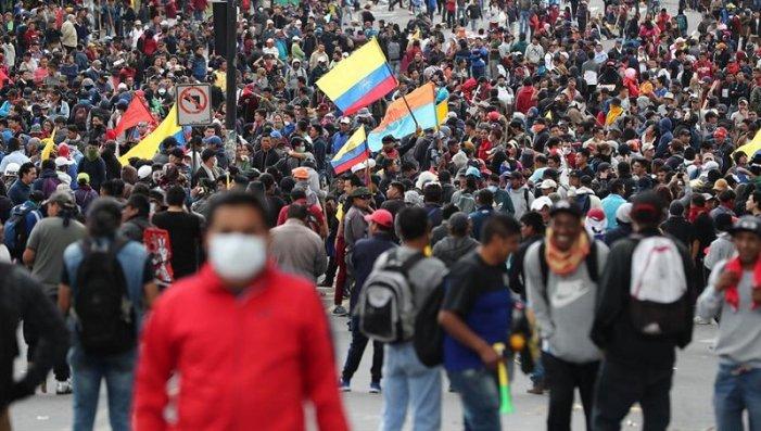 """Ecuador: Abbasso il """"pacchetto"""" del FMI e di Moreno! Preparare lo sciopero generale fino alla cacciata del governo e imporre una soluzione operaia, indigena, contadina e popolare!"""