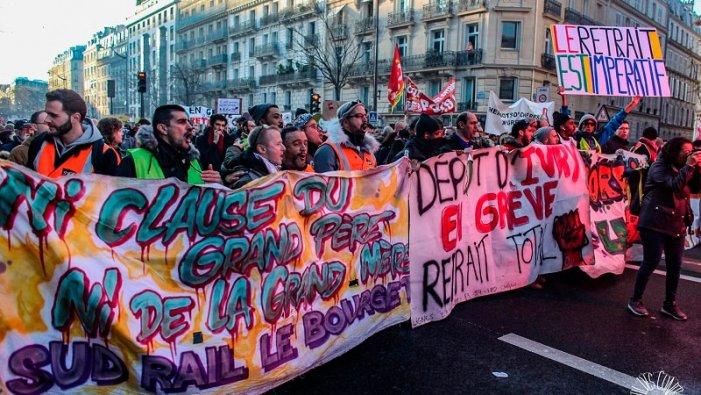 24 gennaio: per una giornata di sciopero generale politico contro la riforma delle pensioni in Francia